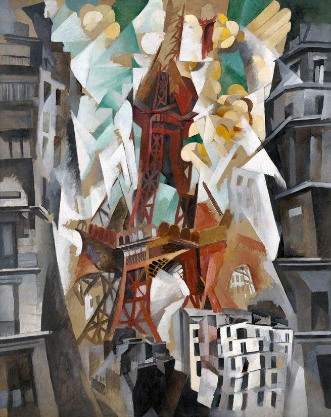 Robert Delaunay. 'Champs de Mars: The Red Tower' 1911/23