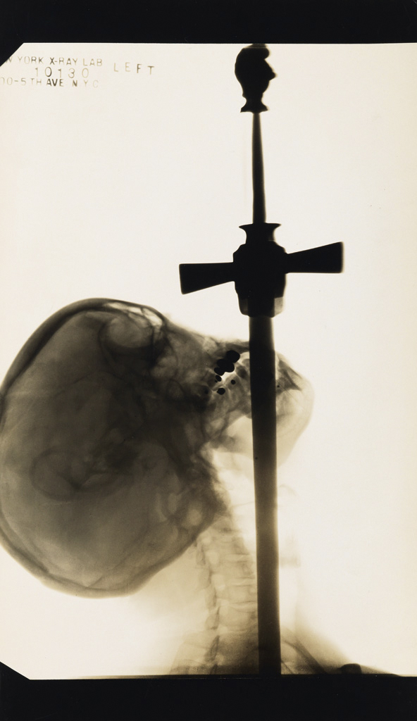 Edward J. Kelty (1888-1967) 'X-ray of Ajax, the sword swallower' 1928
