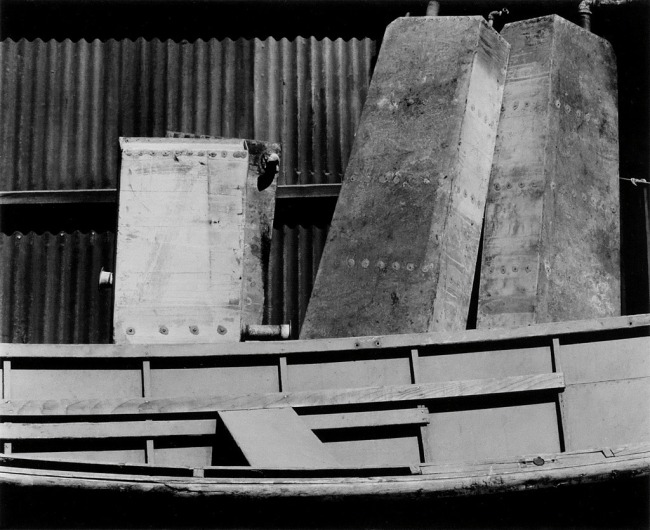 Edward Weston (1886-1958) 'Shipyard detail, Wilmington' 1935