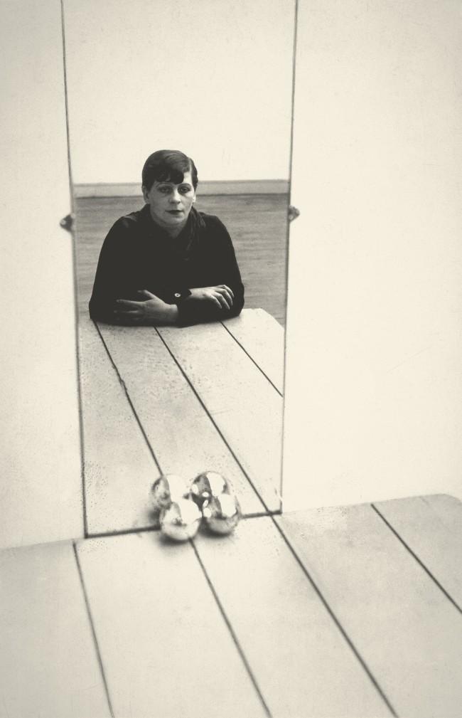 Florence Henri. 'Autoportrait [Self-portrait]' 1928