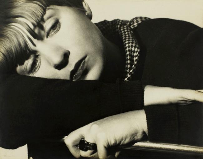 Florence Henri. 'Portrait Composition, Tulia Kaiser' c. 1930