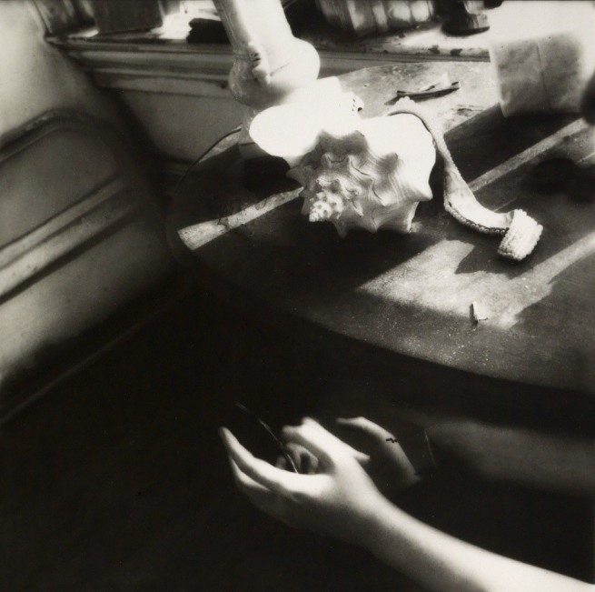 Francesca Woodman (1958-1981) 'But Lately I Find a Sliver of a Mirror is Simply to Slice an Eyelid' 1979/1980
