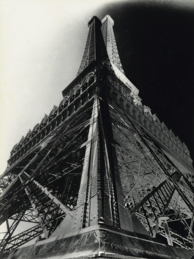 Francois Kollar (1904-1979) 'Double-impression of the Eiffel Tower' 1931
