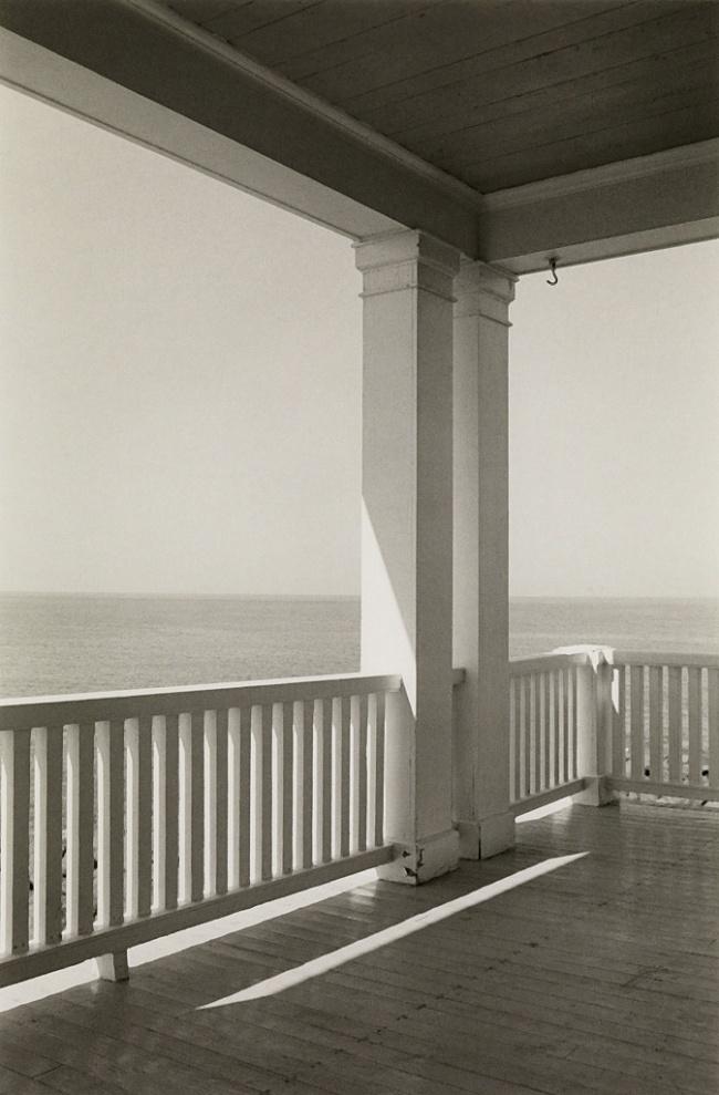 George A. Tice (1938- ) 'Porch, Monhegan Island, Maine' 1971