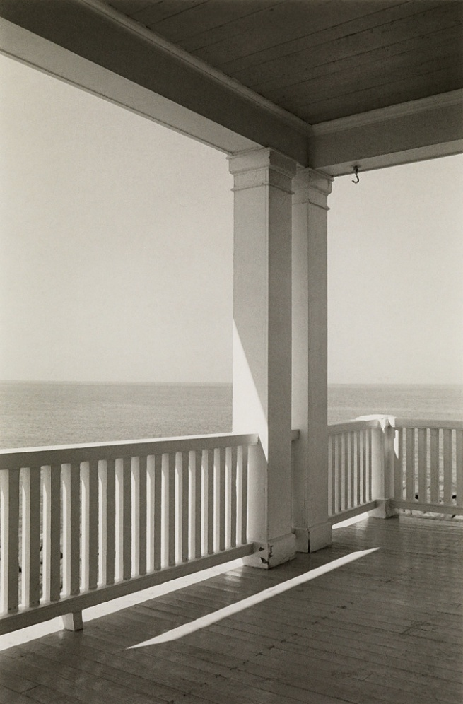 George A. Tice (1938- ) 'Porch, Monhegan Island, Maine' 1971