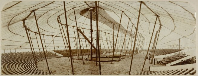 Unknown photographer. '[Barnum and Bailey Circus Tent in Paris, France]' 1901-1902
