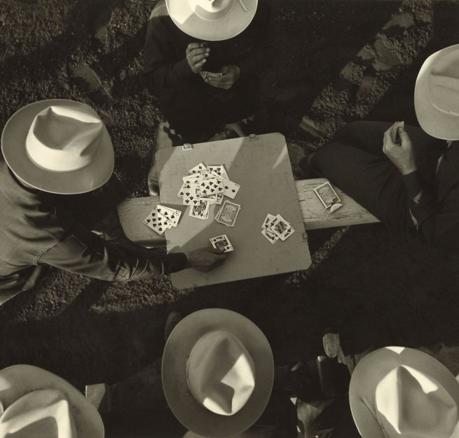Max Yavno. 'Card Players, Los Angeles, California' 1949