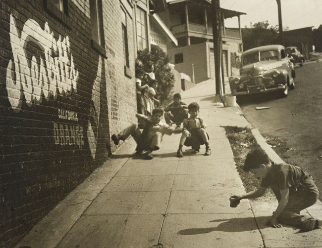 Joe Schwartz. 'East L.A. Skateboarders' 1950s