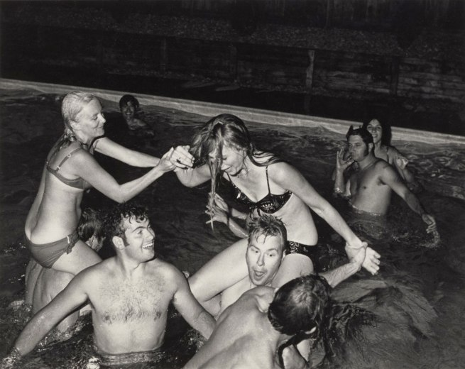 Bill Owens (American, born 1938) 'Untitled (Swimming Pool)' 1973 or before