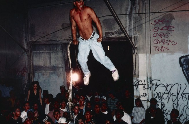 "Lauren Greenfield (American, born 1966) '""Free Sex"" Party Crew Party, East Los Angeles' 1993"