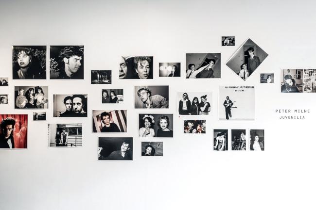Installation photograph of the exhibition 'Juvenilia' at Strange Neighbour, Melbourne