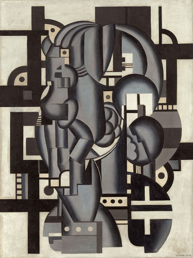 Fernand Léger. 'Composition in Blue' 1921-27