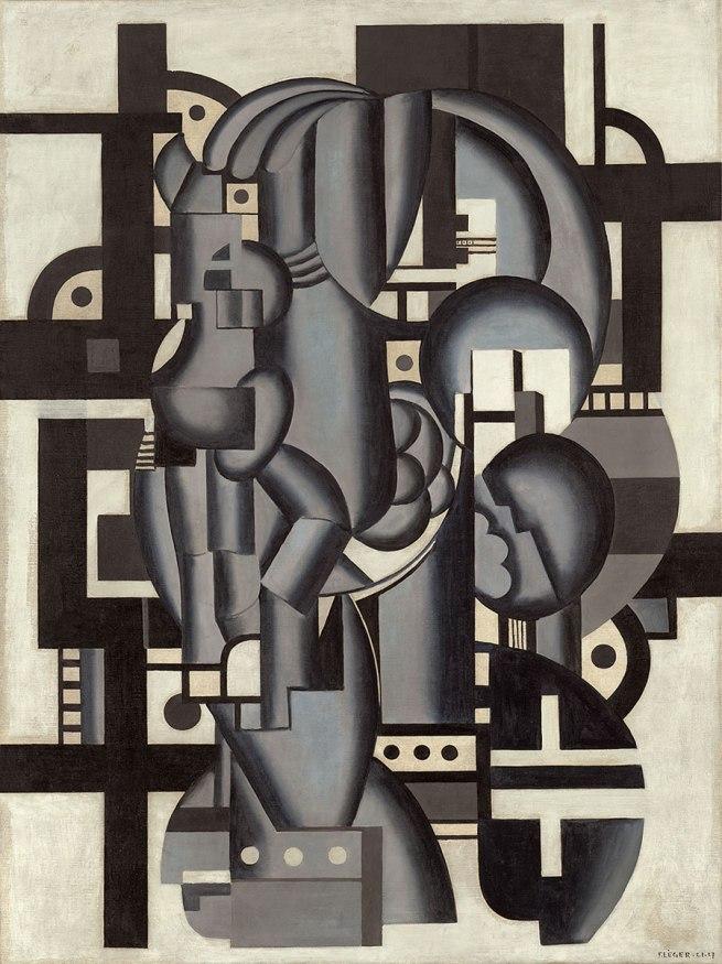 Fernand Léger. 'Composition in Blue' 1921-27