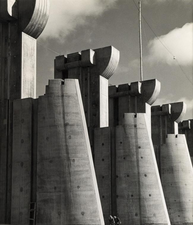 Margaret Bourke-White (1904-1971) 'Fort Peck Dam, Montana' 1936