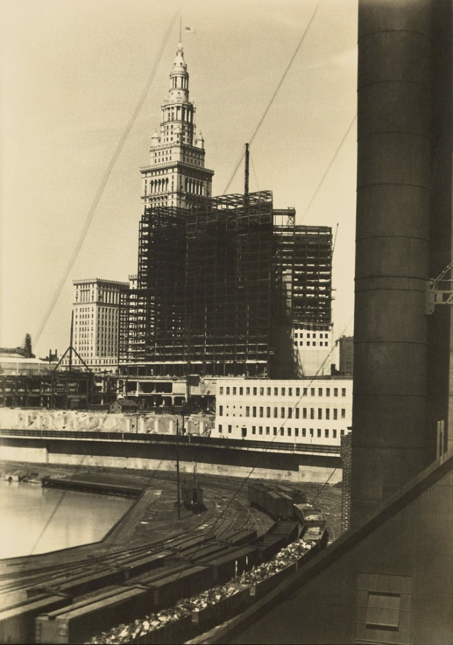 Margaret Bourke-White (1904-1971) 'Terminal Tower [Cleveland]' c. 1928