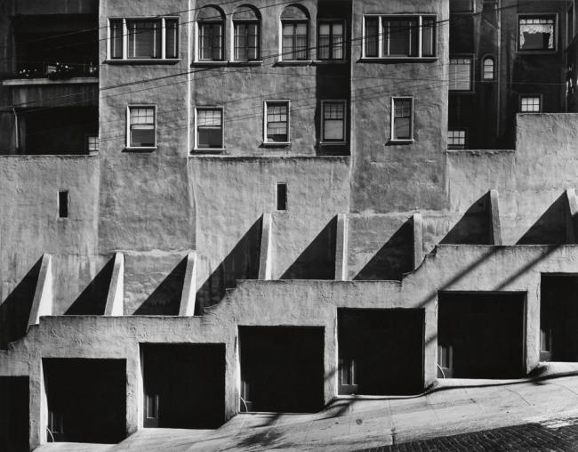 Max Yavno (1911-1985) 'Garage Doors, San Francisco' 1947