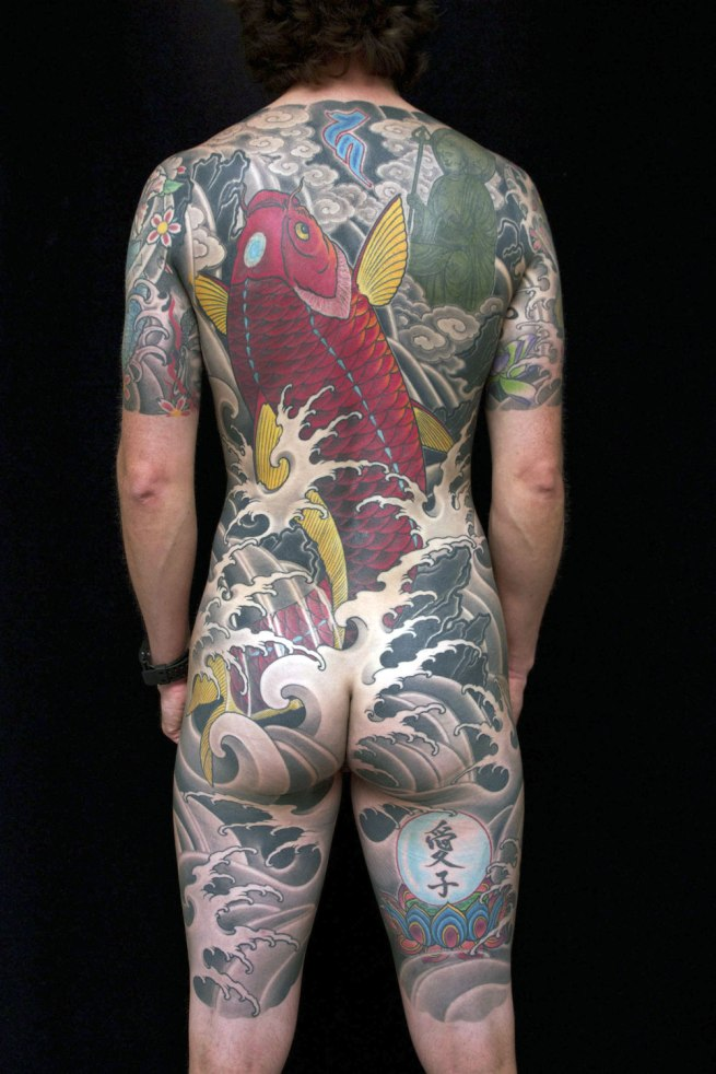 Bodysuit tattoo by Luke Atkinson