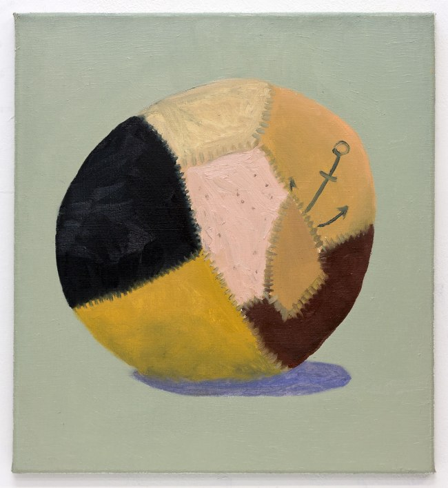 Marlon Wobst (*1980) 'Skin Ball' 2012