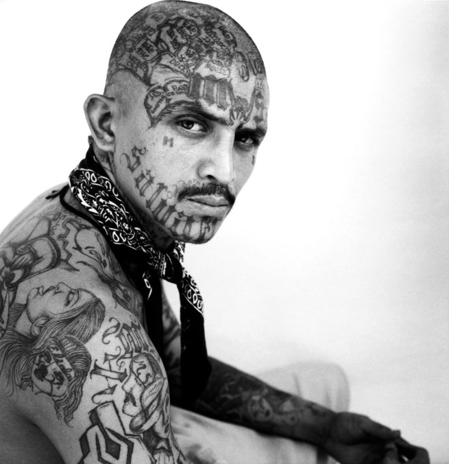 Christian Poveda. 'El Gangster de Iberia (Mara Salvatrucha)' San Salvador, 2008