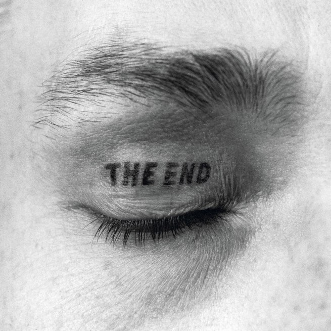 Timm Ulrichs. 'The End Eyelid tattoo' 1970/1981/1997