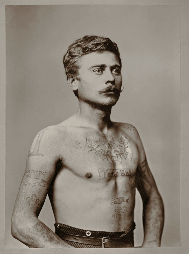 Unknown. 'Karl Paul Johann Frank' c. 1880s - 1890s