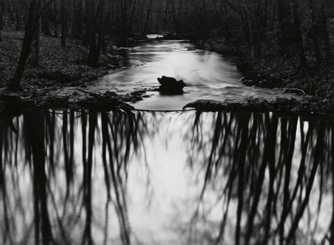 Paul Caponigro (1932- ) 'Redding Stream, Redding, Connecticut' 1968