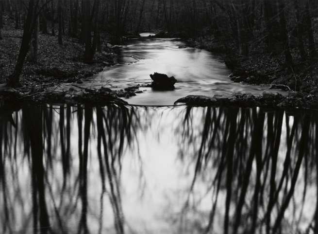 Paul Caponigro (1932- ) 'Redding Stream, Redding, Connecticut' 1968