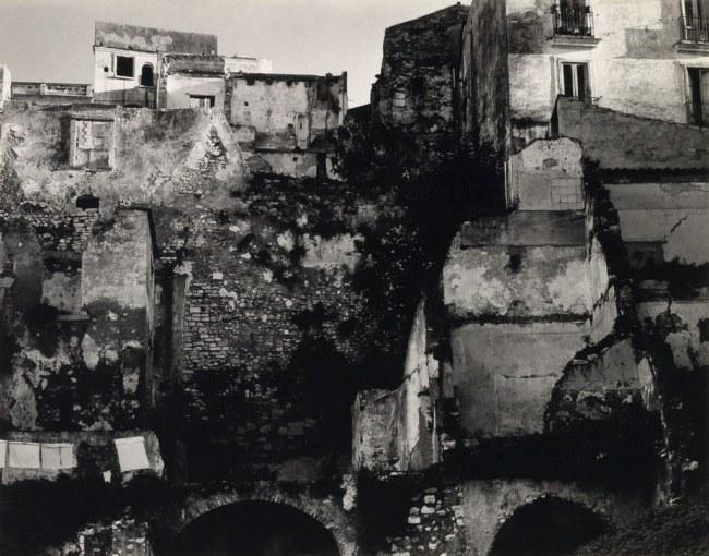 Paul Strand (1890-1976) 'Bombed Area, Gaeta, Italy' 1952