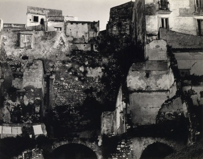 Paul Strand (1890-1976) 'Bombed Area, Gaeta, Italy' 1952