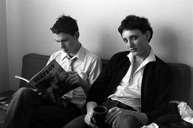Peter Milne. 'Untitled (Peter Milne and Rowland S Howard' from the series 'A Day in the Life of Rowland S Howard' 1977
