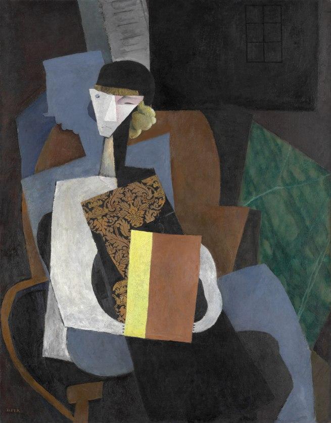 Diego Rivera. 'Portrait of Marevna' c. 1915