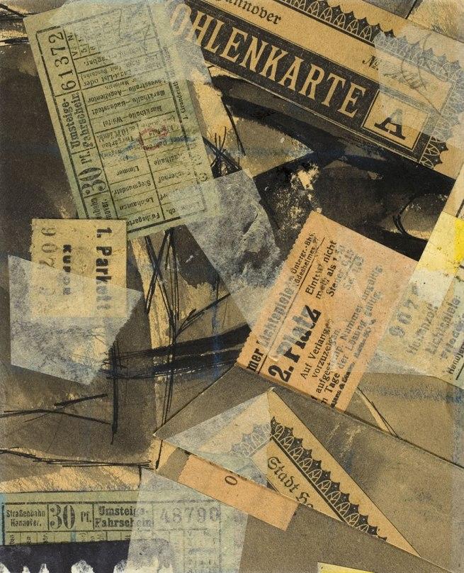 Kurt Schwitters. 'Mz 13 Call' 1919