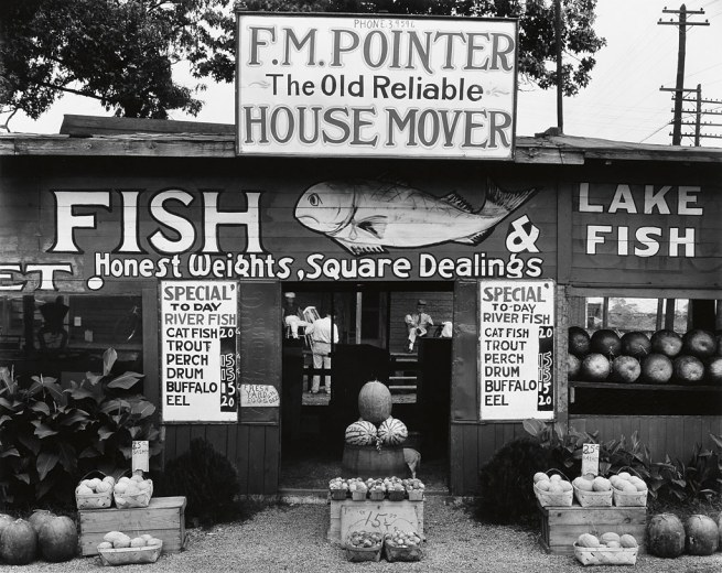Walker Evans (1903-1975) 'Fish Market near Birmingham, Alabama' 1936