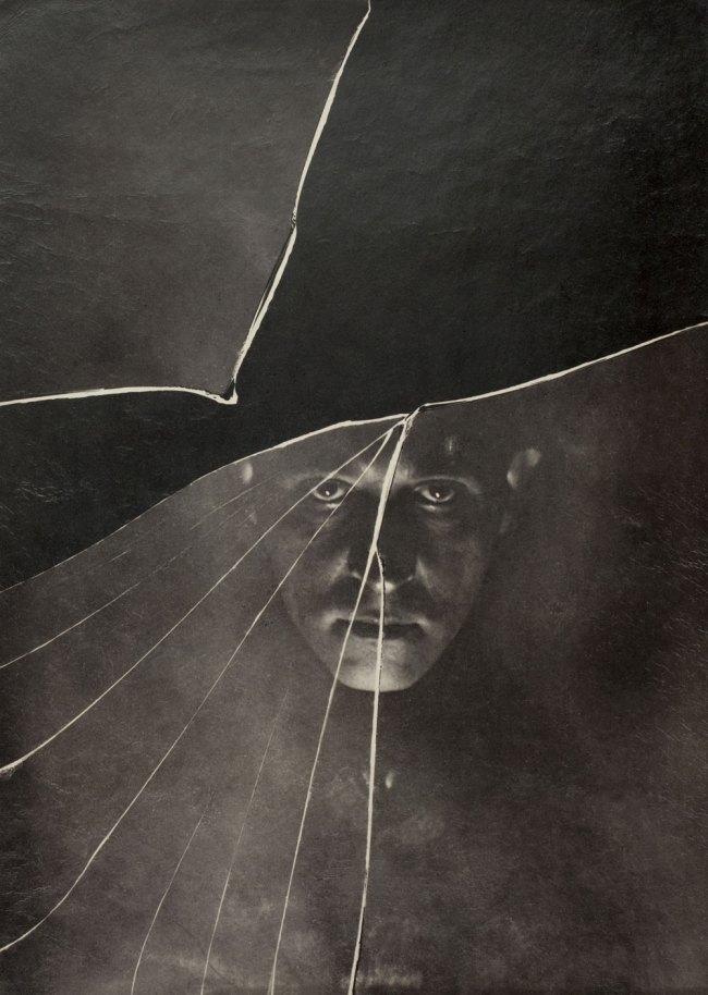 Stanisław Ignacy Witkiewicz. 'Self-Portrait, Zakopane [Broken Glass]' 1910