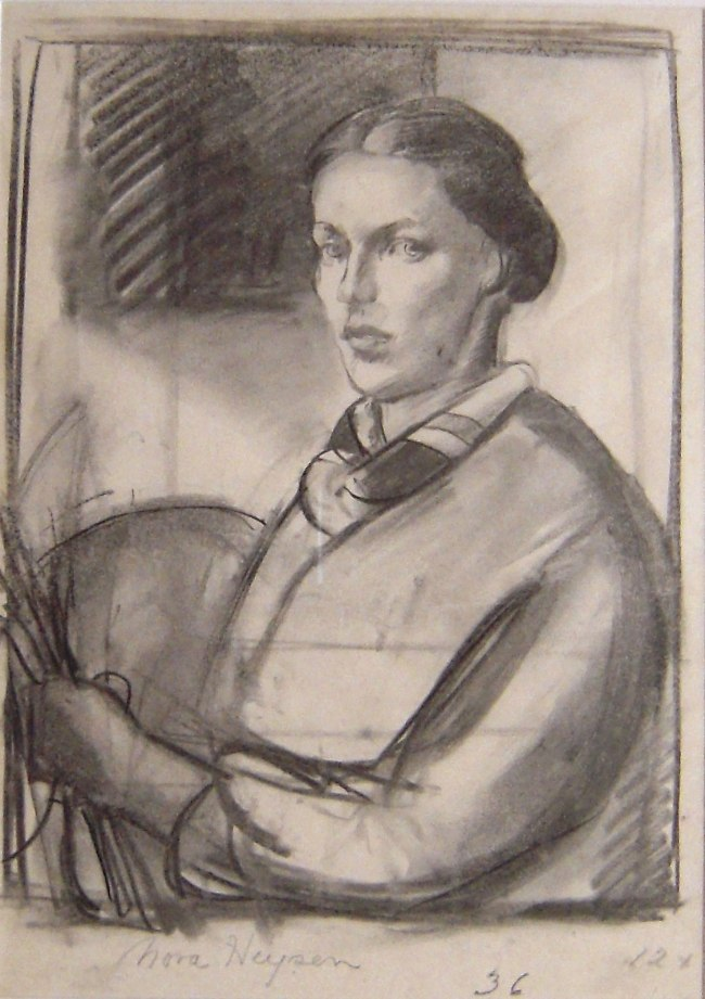 Nora Heysen. '(Self Portrait)' 1936