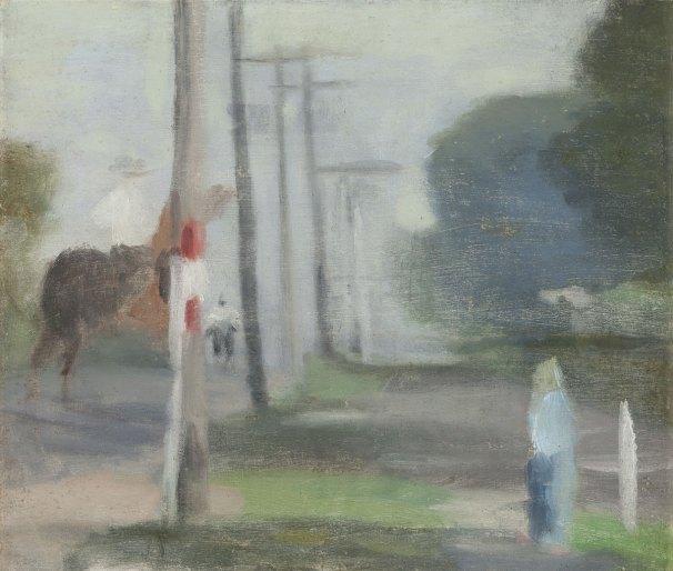 Clarice Beckett. 'Morning Ride' Nd