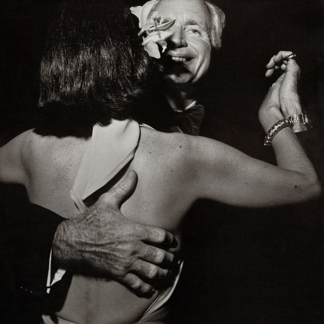 Larry Fink. 'Benefit, MoMA, New York' 1977