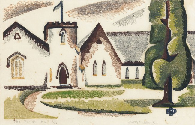 Dorrit Black. 'The Parish Hall' 1937