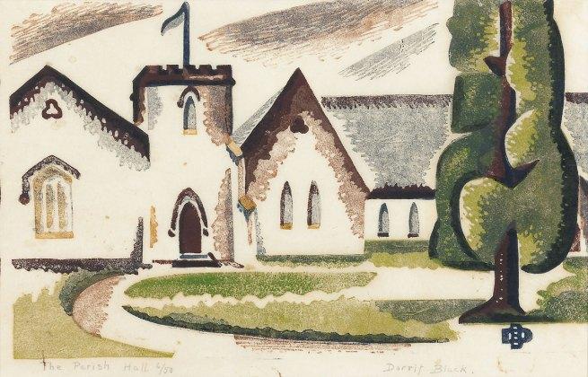 Dorrit Black. 'The Parish Hall' 1937
