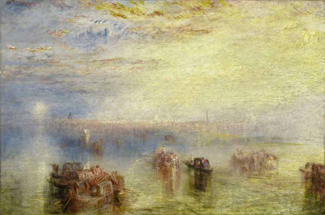 Joseph Mallord William Turner (British, 1775-1851) 'Approach to Venice' Exhibited 1844