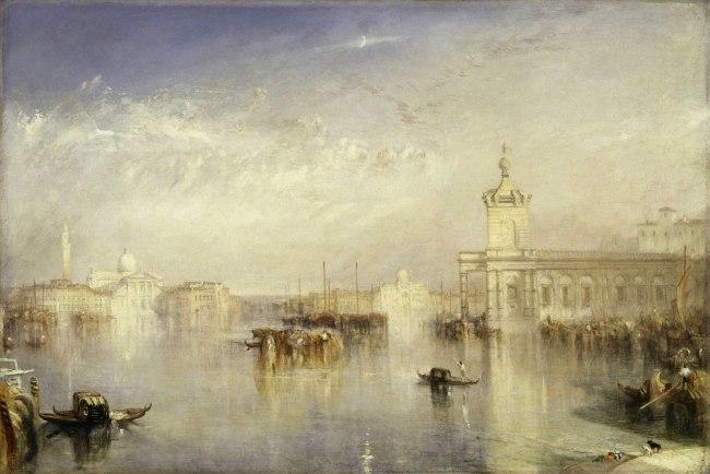 Joseph Mallord William Turner (British, 1775-1851) 'The Dogano, San Giorgio, Citella from the Steps of the Europa' Exhibited 1842
