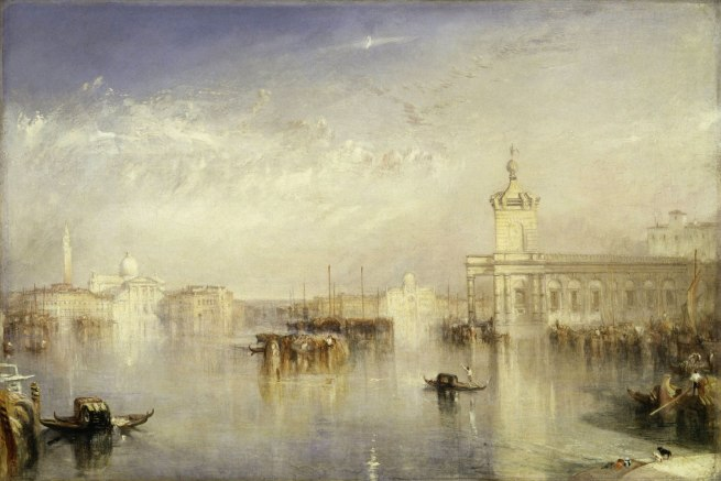 Joseph Mallord William Turner (British, 1775-1851) 'The Dogano, San Giorgio, Citella from the Steps of the Europa' Exhibited 1842