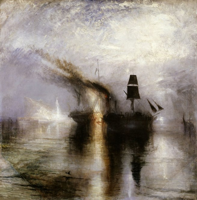 Joseph Mallord William Turner (British, 1775-1851) 'Peace - Burial at Sea' Exhibited 1842