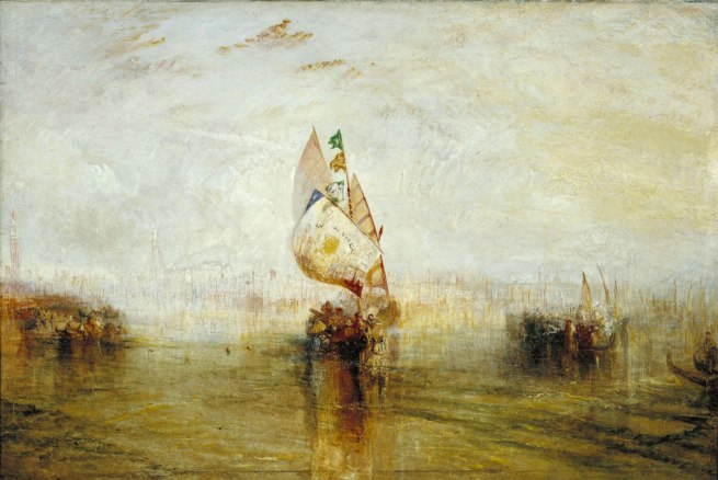 Joseph Mallord William Turner (British, 1775-1851) 'The Sun of Venice Going to Sea' Exhibited 1843