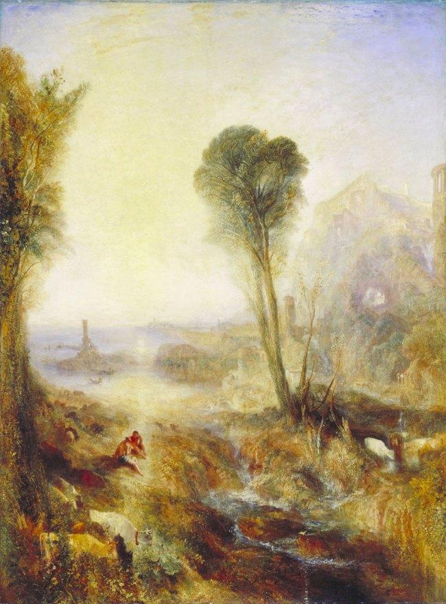 Joseph Mallord William Turner (British, 1775-1851) 'Mercury and Argus' Before 1836