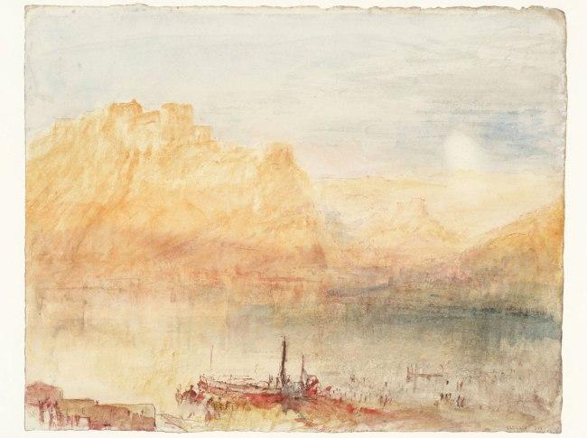 Joseph Mallord William Turner (British, 1775-1851) 'Ehrenbreitstein' 1841