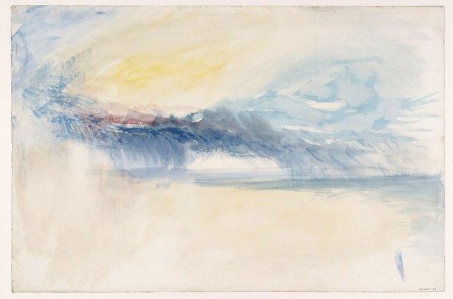 Joseph Mallord William Turner (British, 1775-1851) 'Rain Clouds' About 1845