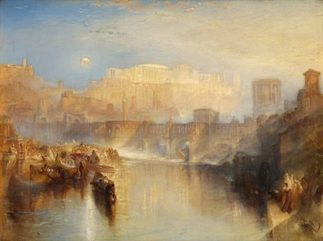 Joseph Mallord William Turner (British, 1775-1851) 'Ancient Rome: Agrippina Landing with the Ashes of Germanicus' Exhibited 1839