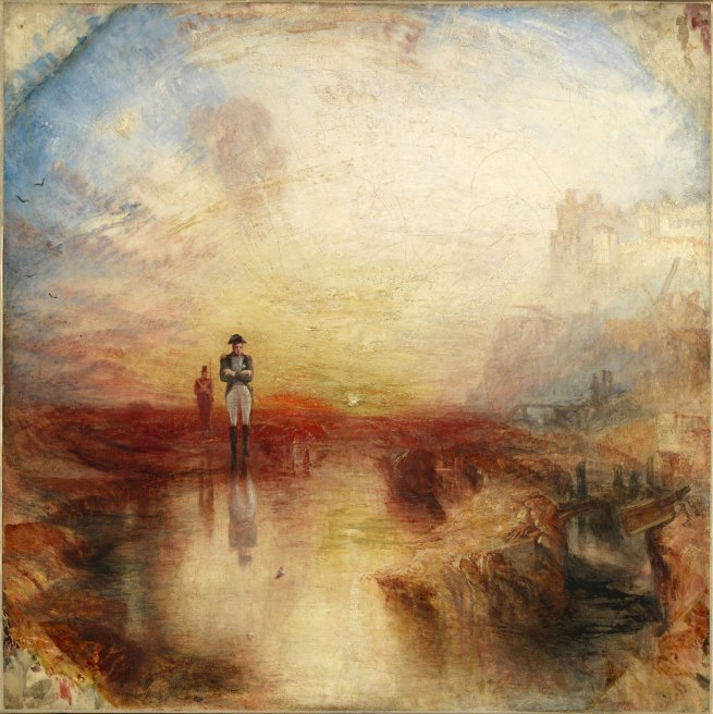 Joseph Mallord William Turner (British, 1775-1851) 'War. The Exile and the Rock Limpet' Exhibited 1842