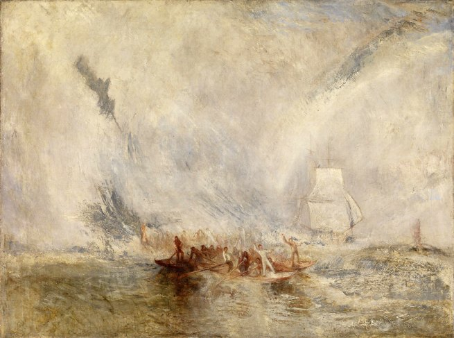 Joseph Mallord William Turner (British, 1775-1851) 'Whalers', exhibited 1845